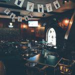 Interior of O'Michael's Pub & Grill.